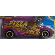 #143 Hot Wheels Ford Transit Connect