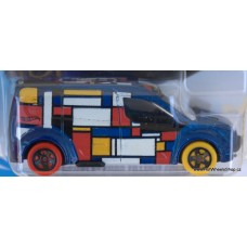 #224 Hot Wheels Ford Transit Connect