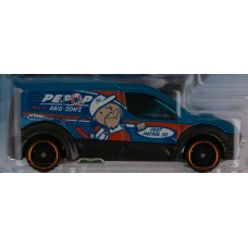 #7 Hot Wheels Ford Transit Connect