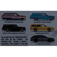 Car Culture Fast Wagons
