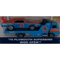Car Culture Team Transport '70 Plymouth Superbird Wide Open