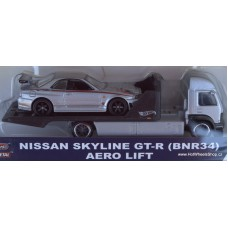 Car Culture Team Transport Nissan Skyline GT-R (BNR34) Aero Lift