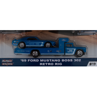 Car Culture Team Transport '69 Ford Mustang Boss 302 Retro Rig