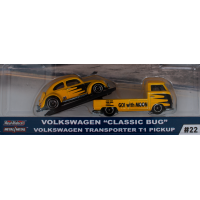 "Car Culture Team Transport Volkswagen ""Classic Bug"" Volkswagen Transporter T1 Pickup"