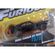 Mattel Fast Furious Dodge Charger Off - Road 1970