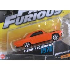 Mattel Fast Furious Plymouth Roadrunner 1970