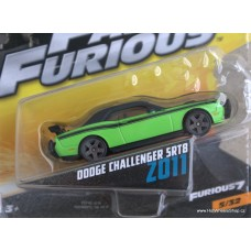 Mattel Fast Furious Dodge Challenger SRT8 2011