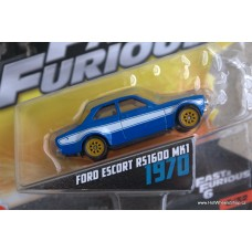 Mattel Fast Furious Ford Escort RS1600 MK1 1970