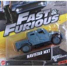 Mattel Fast Furious Navistar MXT