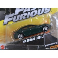 Mattel Fast Furious Maserati Ghibli