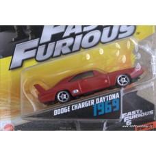 Mattel Fast Furious Dodge Charger Daytona 1969