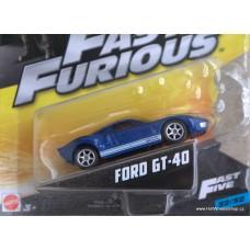 Mattel Fast Furious Ford GT-40